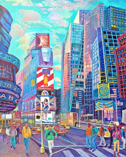 , 'TIMES SQUARE V,' 2015, Alpha 137 Gallery