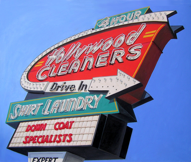 , 'Hollywood Cleaners,' , The Bonfoey Gallery