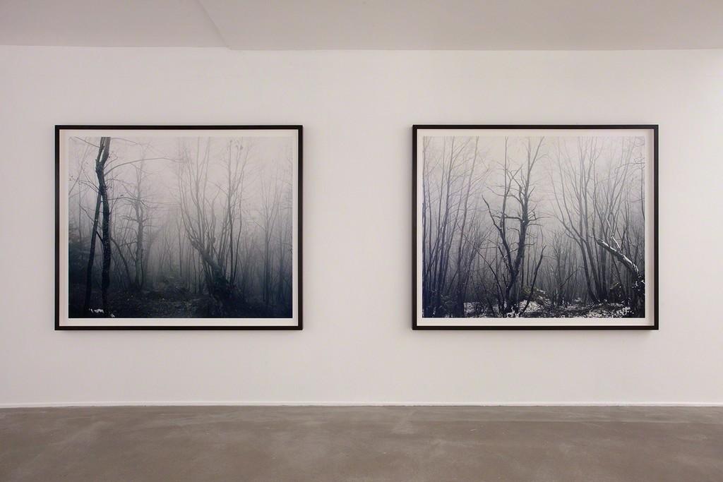 Axel Hütte in Winterreise: Marignano I & II, 2017, photo Wytske van Keulen