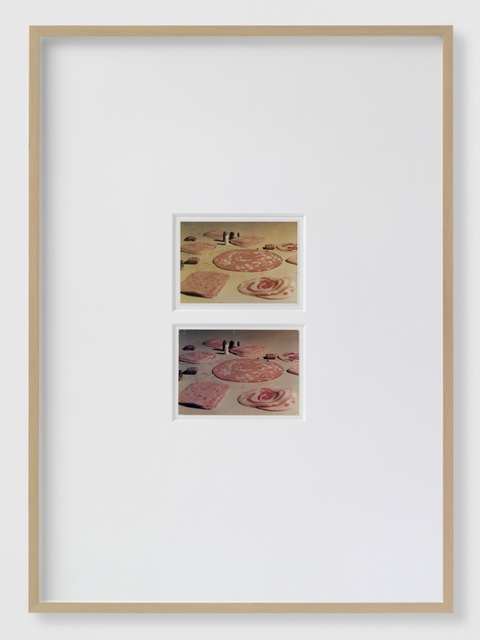 , 'White between the Darlings [Decisive Instant - Zoom in],' 2014, Barbara Seiler