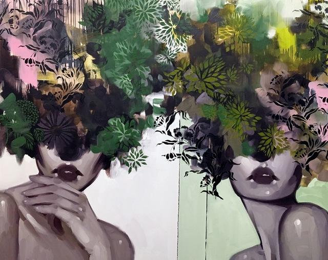 , 'Friend or Foe,' 2017, Eisenhauer Gallery