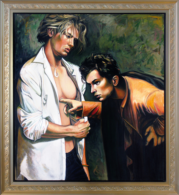 , 'Skeptical Tom,' 2009, Benjaman Gallery Group