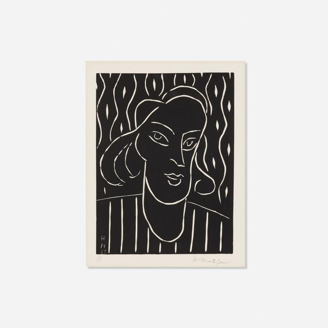 Henri Matisse, 'Teeny', 1938, Wright