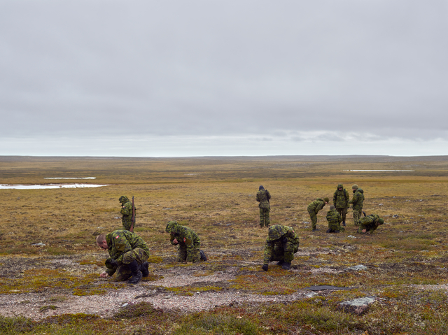 , 'Arctic Response Company Learn Traditional Skills, Rankin Inlet,' 2017, Circuit Gallery