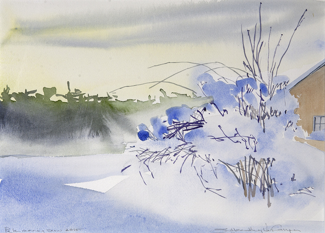 , 'Pale Morning Snow,' , Dowling Walsh