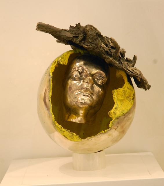 Igael Tumarkin, 'Astronaut', ca. 1990, Sculpture, Steel, Dan Gallery