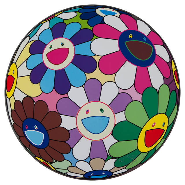 Takashi Murakami, 'Flower Ball (Dumpling)', 2013, Print, Offset lithograph printed in colours on smooth wove paper, Lougher Contemporary