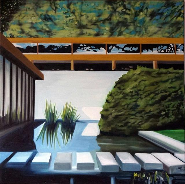 , 'Louisiana Museum Pond,' 2019, Galleri Christoffer Egelund