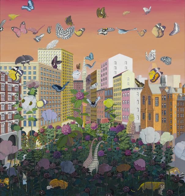 , 'Metropolis No.6,' 2016, Kwai Fung Hin