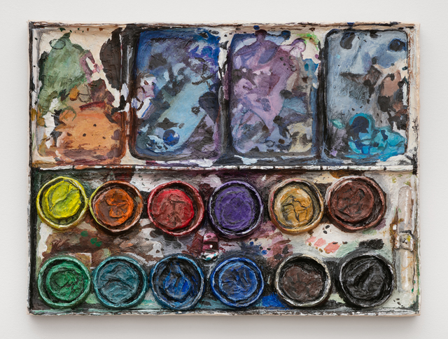 , 'Watercolor tray palette,' 2018, Foxy Production
