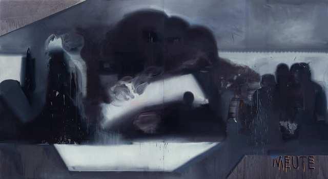 Rayk Goetze, 'Meute', 2020, Painting, Oil and acrylic on canvas, Josef Filipp Galerie