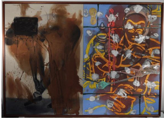 David Salle, 'A Man in Business', 1984, Mana Contemporary