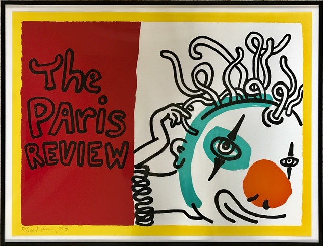 Keith Haring, 'Paris Review', 1989, Fine Art Mia