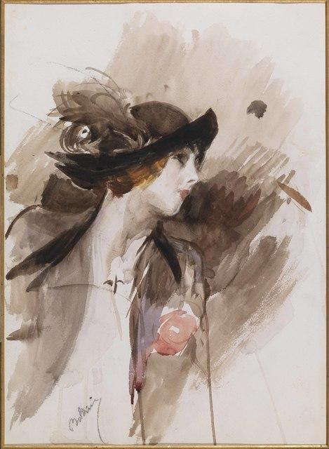 , 'Double Female Portrait (Recto),' 1905-1910, Antonacci Lapiccirella Fine Art