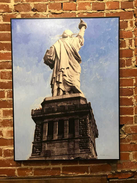 , 'Jersey City View of the Statue of Liberty,' 2016, Mason-Nordgauer Fine Arts Gallery