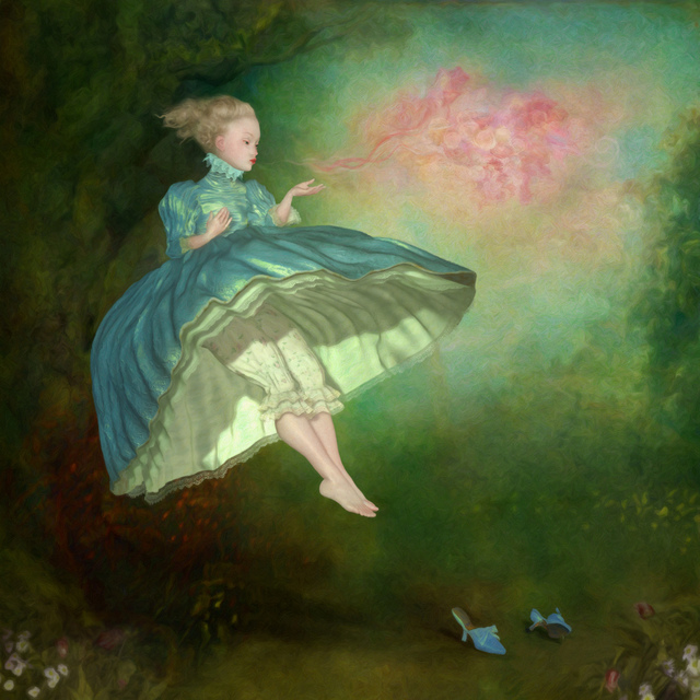 Ray Caesar, 'Adieu Adieu ', Print, Digital Ultrachrome print and acrylic paint single varnished on board, Dorothy Circus Gallery