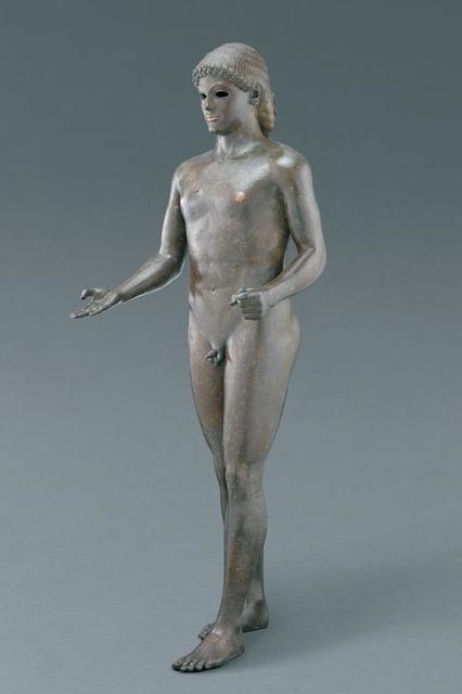 """, 'Apollo, """"The Piombino Apollo"""",' 120-100 B.C., J. Paul Getty Museum"""