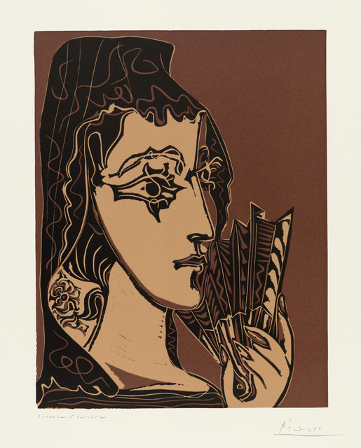 , 'Portrait de Jacqueline en Carmen,' 1962, John Szoke