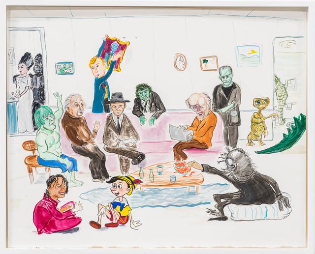 , 'The Spectators,' 2015, Rosamund Felsen Gallery