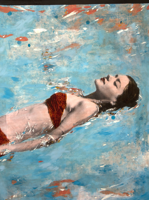 , 'Woman in the Water,' 2016, Massey Klein Gallery