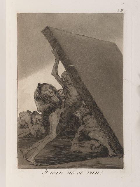 , 'Los Caprichos,' 1799, Jeu de Paume