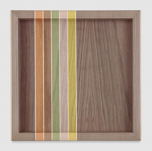 , 'Untitled (Dark Blue Hovering Thread),' 2017, PRAZ-DELAVALLADE