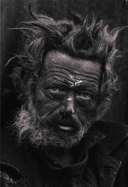 Don McCullin, 'Tormented, Homeless Irishman, Spitalfields, London, UK', 1969, Photography, Early 1980s silver gelatin fibre-based print, David Hill Gallery