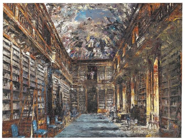 , 'Biblioteca,' 2017, Partners & Mucciaccia