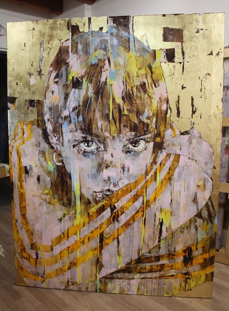 , 'Adiface,' 2016, Liquid art system