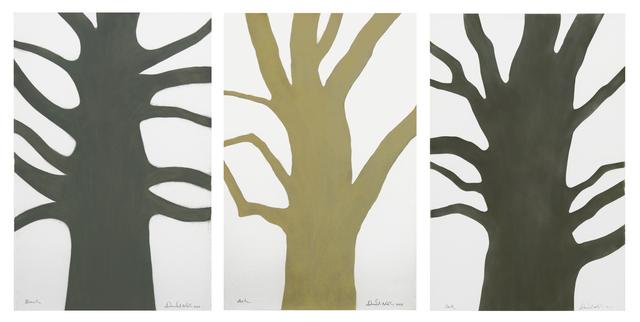 , 'Beech, Ash, Oak, triptych,' 2016, Annely Juda Fine Art