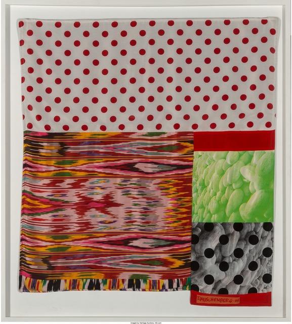 Robert Rauschenberg, 'Samarkand Stitches #VII', 1988, Heritage Auctions