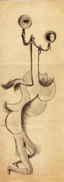 , 'Hedda Sterne, Theodore Brauner, Medi Wechsler Dinu, Cadavre exquis no 126,' 1930-1932, Nasui Collection & Gallery