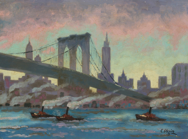 , 'Brooklyn Bridge,' , Questroyal Fine Art
