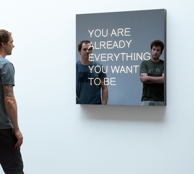 , 'YOU ARE ALREADY EVERYTHING YOU WANT TO BE,' 2016, KÖNIG GALERIE