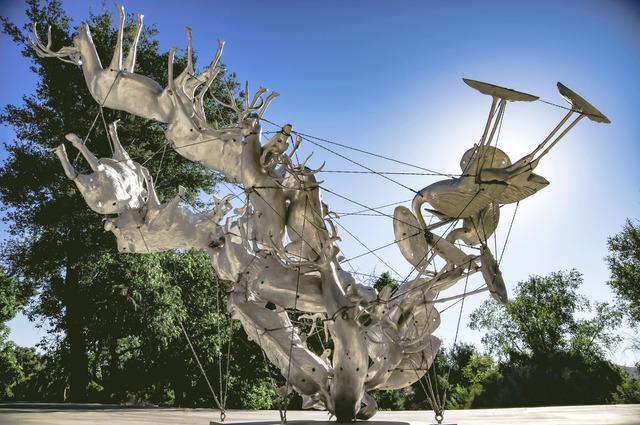, 'Agrifauna Delicata I,' 2017, Gagosian