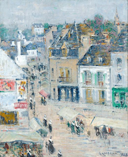 Gustave Loiseau, 'Pont-Aven, Temps Gris, Brittany', 1923,  M.S. Rau