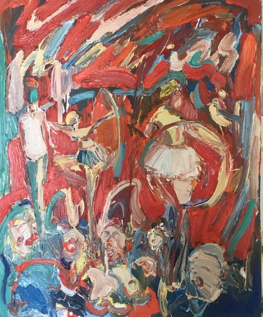 , 'Hoop Dancers,' 2019, Janet Rady Fine Art