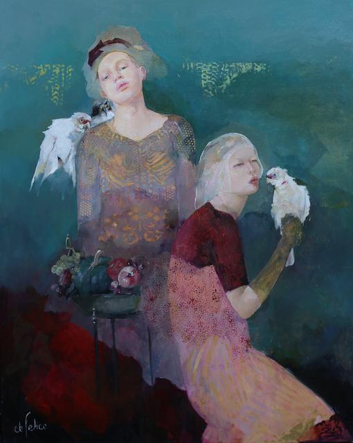 , 'Bleu de nuit,' 2019, Galerie Calderone