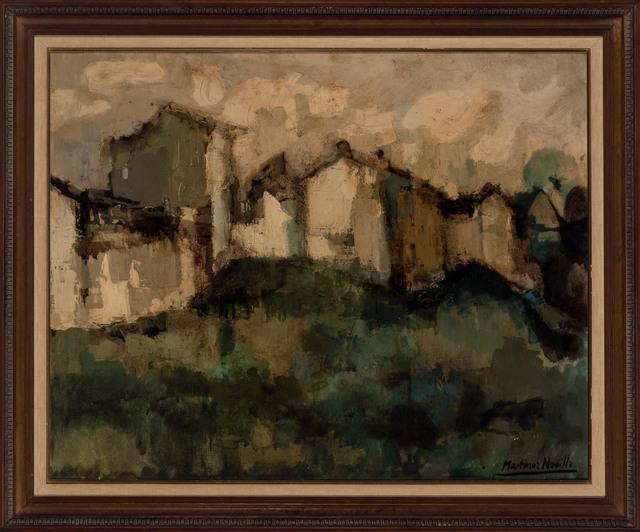 Cirilo Martinez Novillo, 'Hilltop Village', Painting, Oil on canvas, Doyle