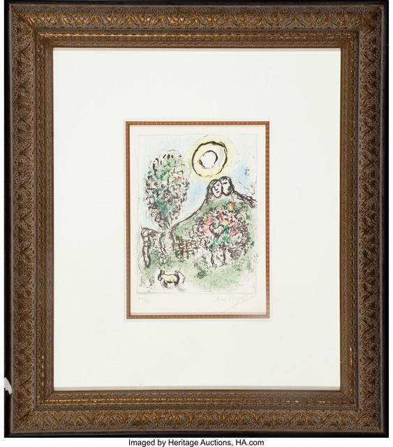 Marc Chagall, 'Le Baou de St-Jeannet II', 1969, Heritage Auctions