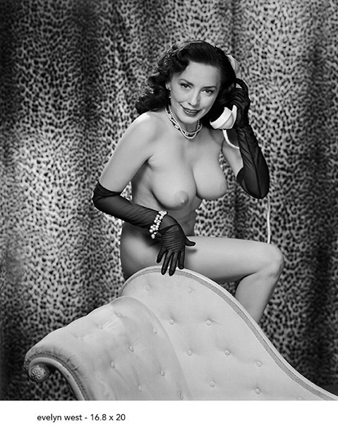 , 'Evelyn West With Phone,' 1952, Milk Gallery