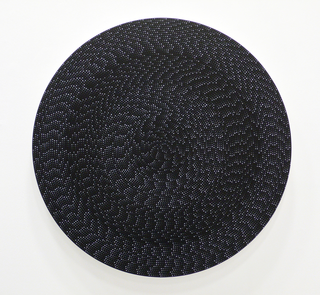 Michelle Grabner, 'Untitled', 2015, Painting, Flashe and black gesso on canvas, Bruno David Gallery