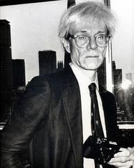 Andy Warhol, 'Andy Warhol at the Halston Spring Fashion Show, New York', 1978, Curator Style