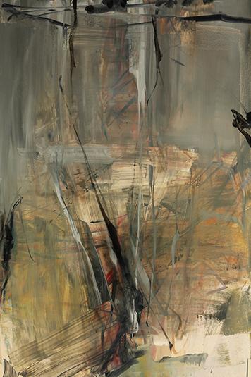 Tom Lieber, 'Tan Grey Shield', 2014, Dolby Chadwick Gallery