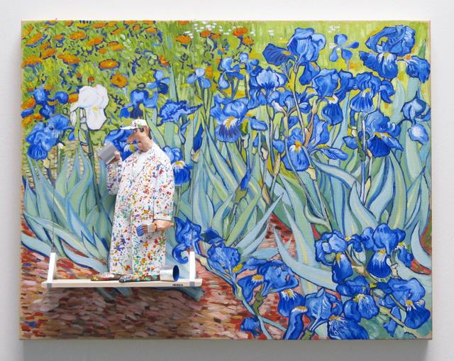 , 'Les Iris - Van Gogh ,' 2016, Zenith Gallery