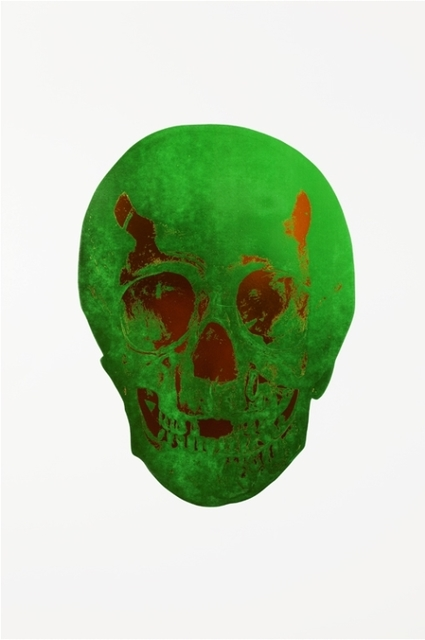 , 'The Dead - Lime Green Island Copper Skull,' , Other Criteria