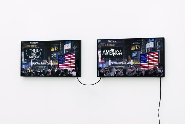 , 'A Logo for America (1987-2014),' 2016, Galerie Lelong & Co.
