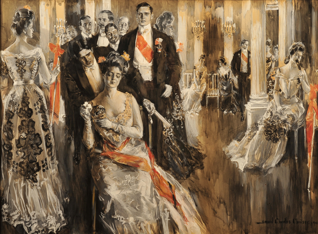 Howard Chandler Christy, 'The Cotillion', 1901, The Illustrated Gallery