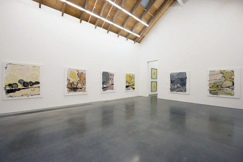 "Installation view of ""Parrish Perspectives – Robert Dash: Theme and Variations"", on view at the Parrish Art Museum, March 15, 2015 – April 26, 2015. Photo: Daniel Gonzales."