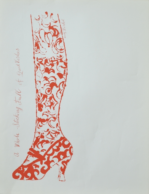 Andy Warhol, 'A Whole Stocking Full of Good Wishes', ca. 1956, Long-Sharp Gallery